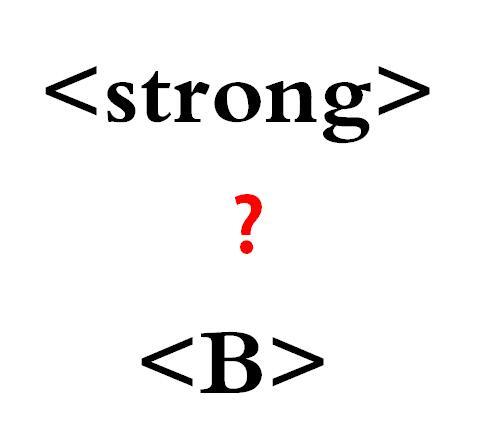 html中strong与b,em与i标签的区别